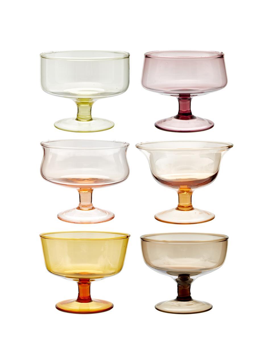 Coupe à dessert soufflées à la main Desigual, 6élém., Multicolore