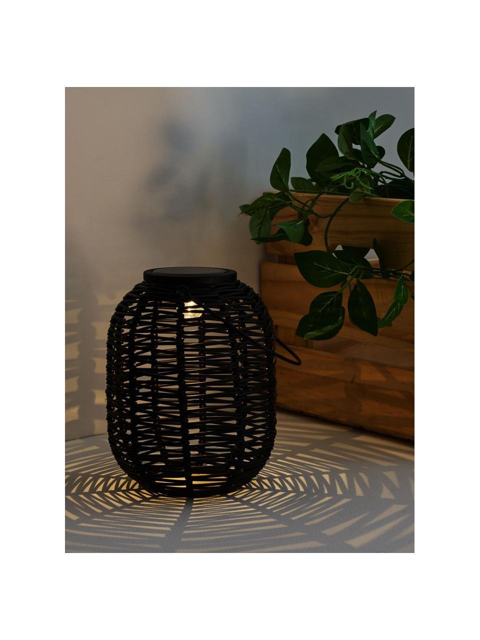 Lanterne solaire d'extérieur à poser ou suspendre Treasure, Noir