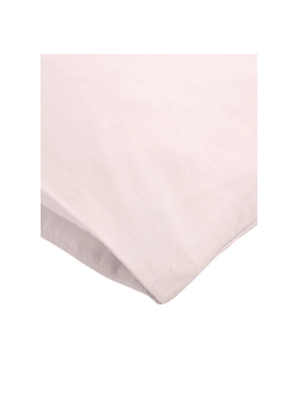 Baumwollperkal-Kopfkissenbezüge Elsie in Rosa, 2 Stück, Webart: Perkal Fadendichte 200 TC, Rosa, 40 x 80 cm