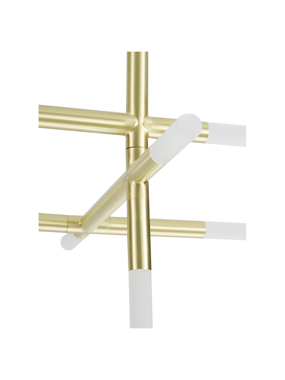 LED-Deckenleuchte Gratia in Gold, Baldachin: Metall, galvanisiert, Gold, 76 x 50 cm