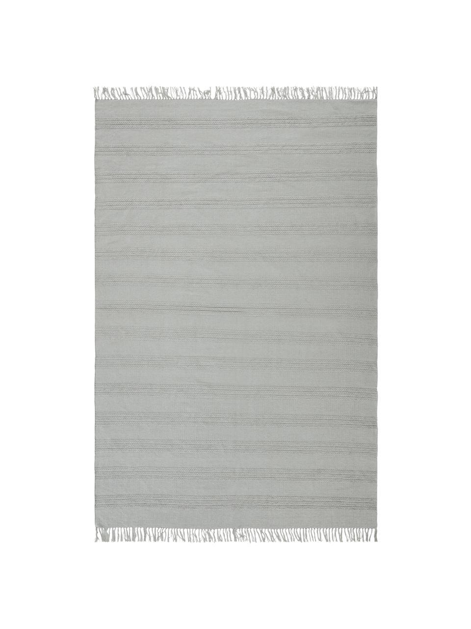 Dywan z bawełny Tanya, 100% bawełna, Jasny szary, S 200 x D 300 cm (Rozmiar L)