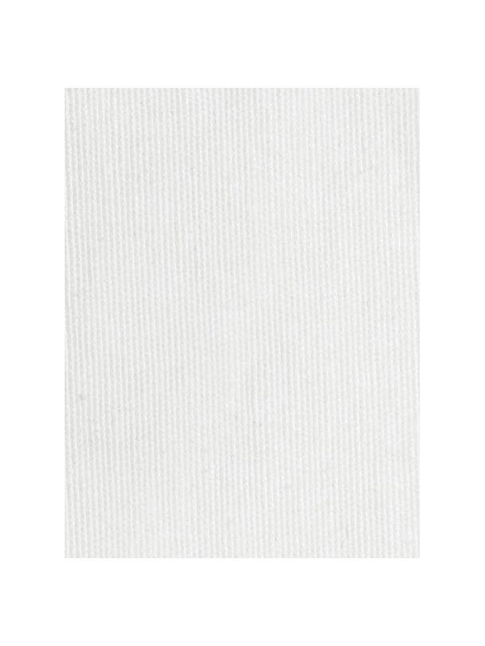 Copridivano Levante, 65% cotone, 35% poliestere, Color crema, Larg. 150 x Lung. 220 cm