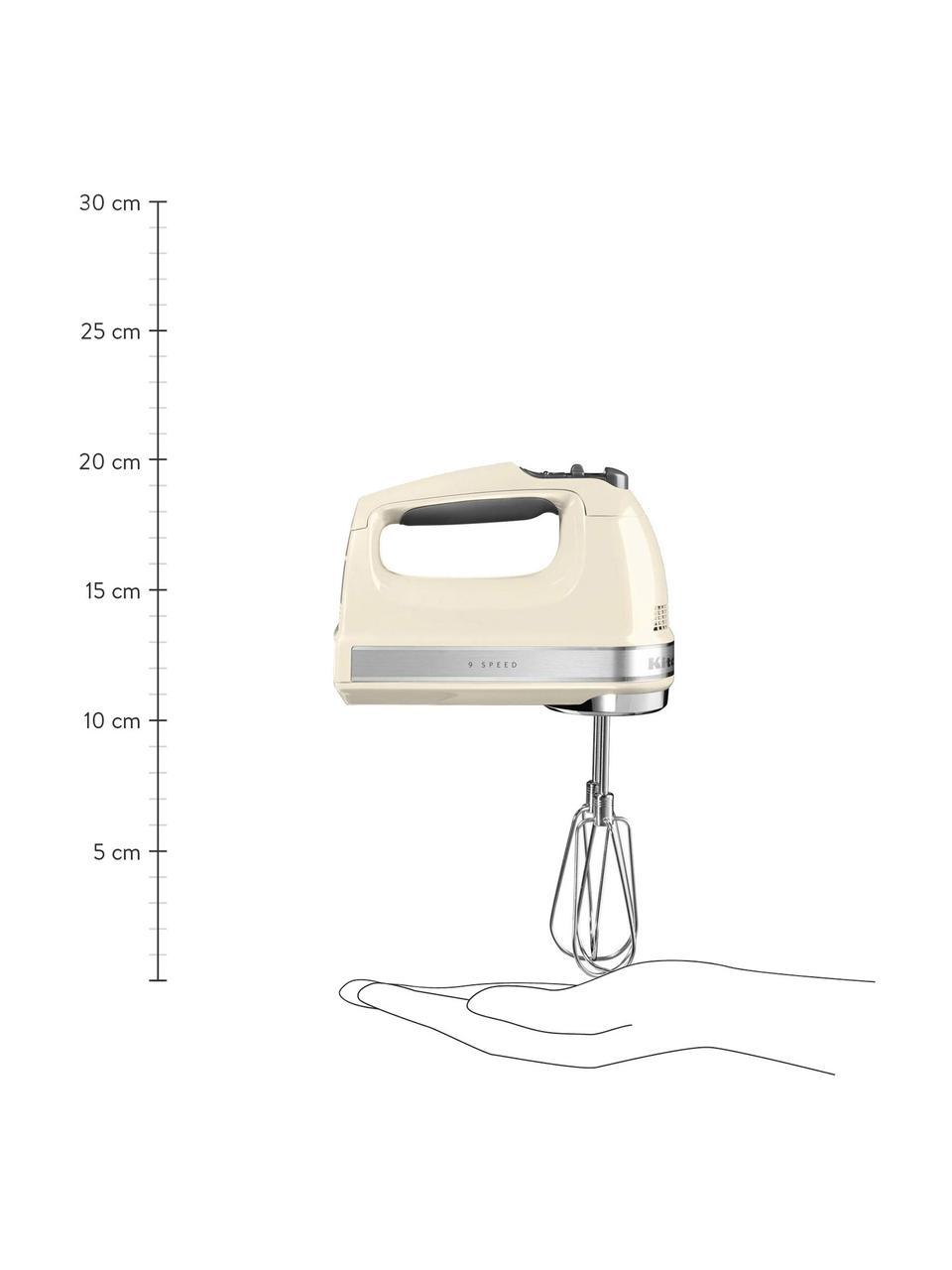 Handrührgerät KitchenAid, Gehäuse: Kunststoff., Creme, glänzend, 15 x 20 cm