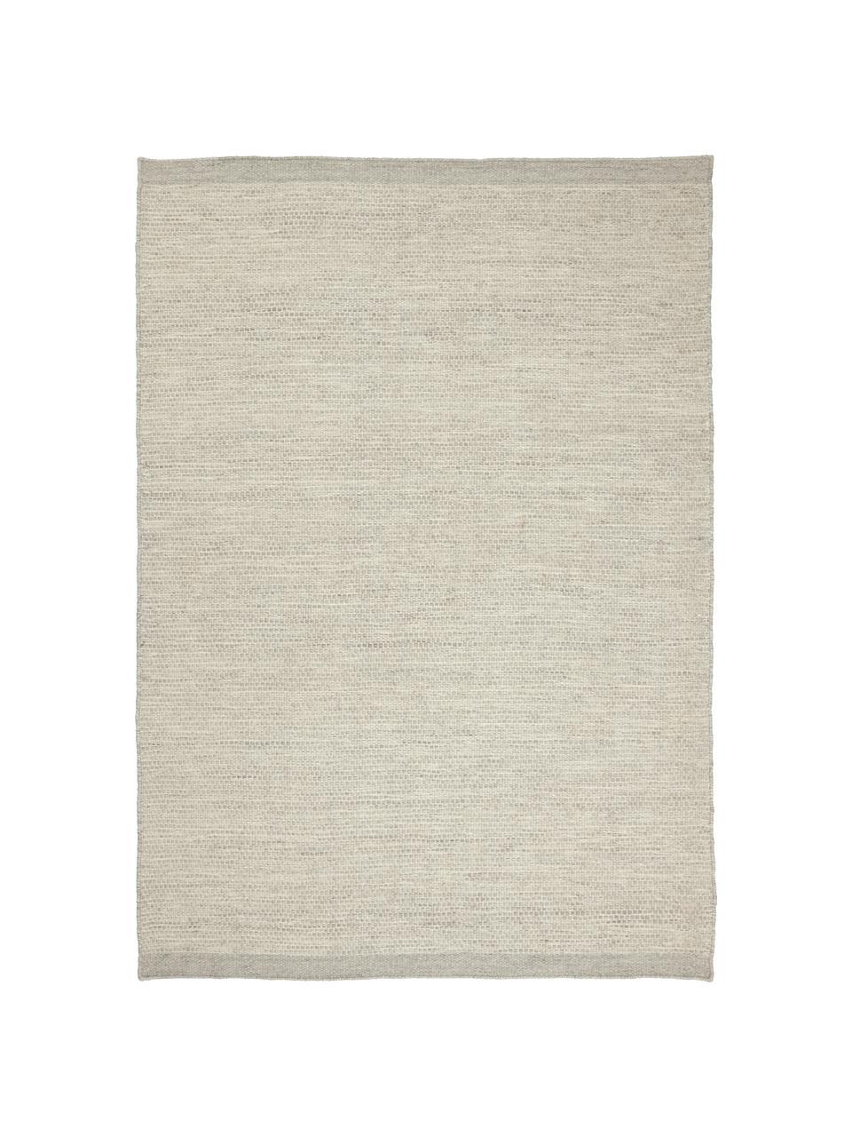 Ręcznie tkany dywan z wełny Asko, Szary, S 200 x D 300 cm (Rozmiar L)