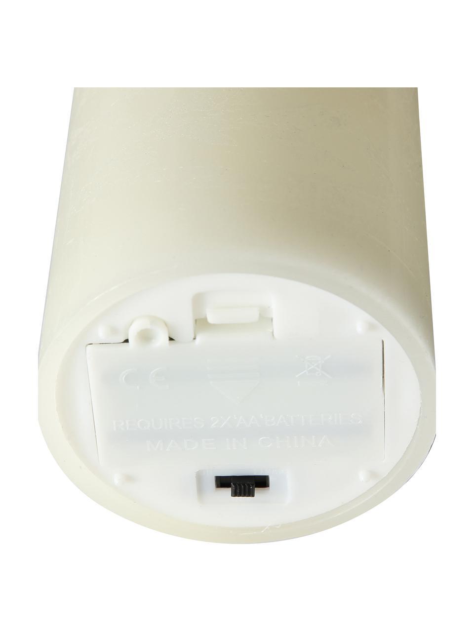 Bougie à LED Bino, Couleur crème