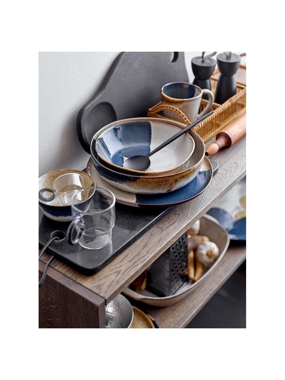 Młynek do soli i pieprzu z drewna Rubber, Korpus: drewno kauczukowe, stal s, Czarny, Ø 7 x W 15 cm