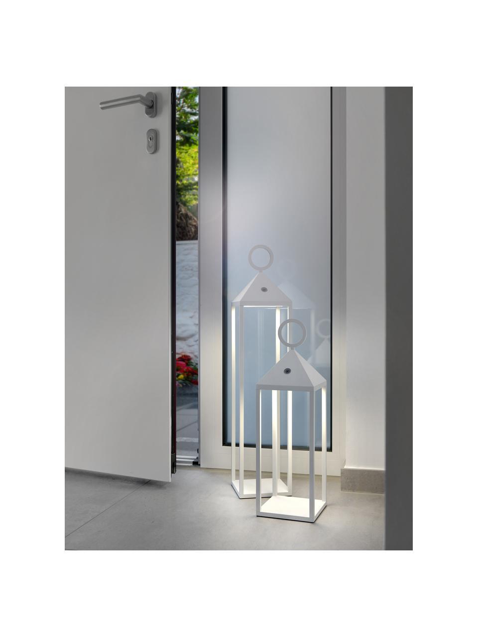 Mobilna lampa zewnętrzna z funkcją przyciemniania Cargo, Biały, S 14 x W 67 cm