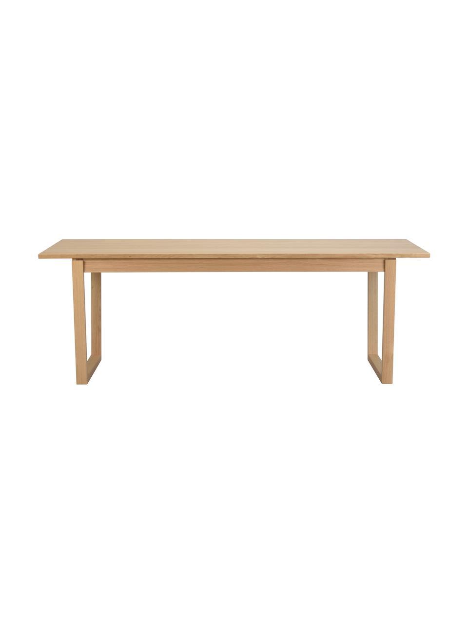 Stół do jadalni Colonsay, Blat: płyta pilśniowa średniej , Fornir z drewna dębowego, S 215 x G 96 cm