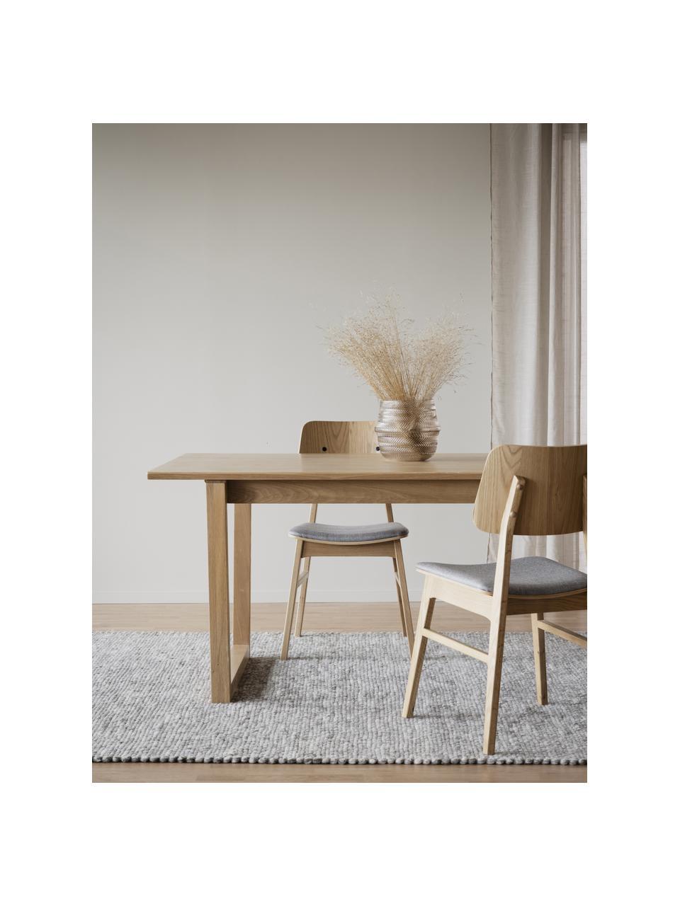 Tavolo in legno di quercia chiaro Colonsay, Marrone chiaro, Larg. 215 x Prof. 96 cm