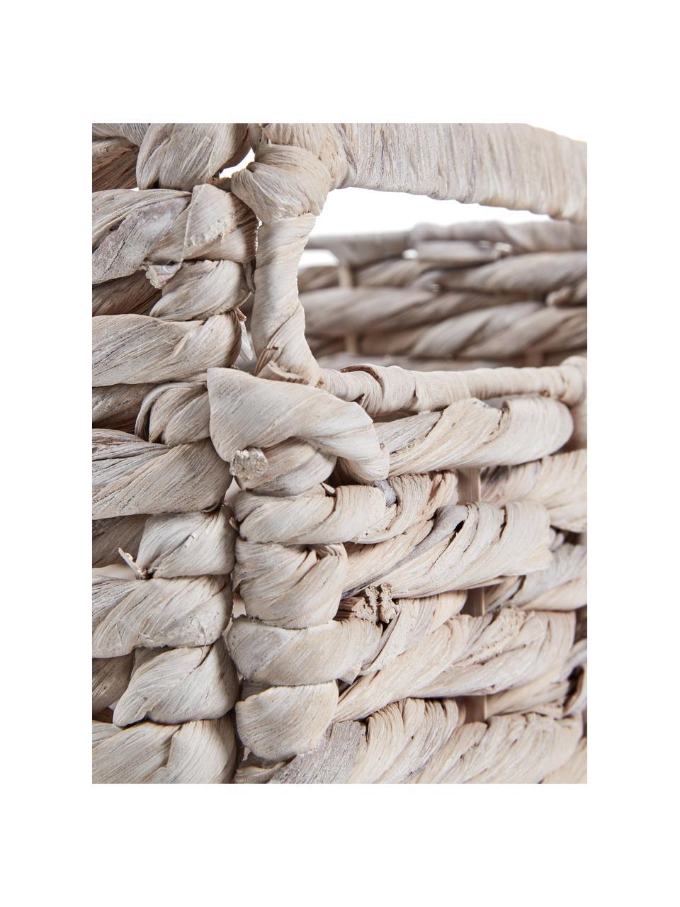 Cestino portaoggetti bianco Parole, Struttura: metallo, Bianco, Larg. 35 x Lung. 27 cm