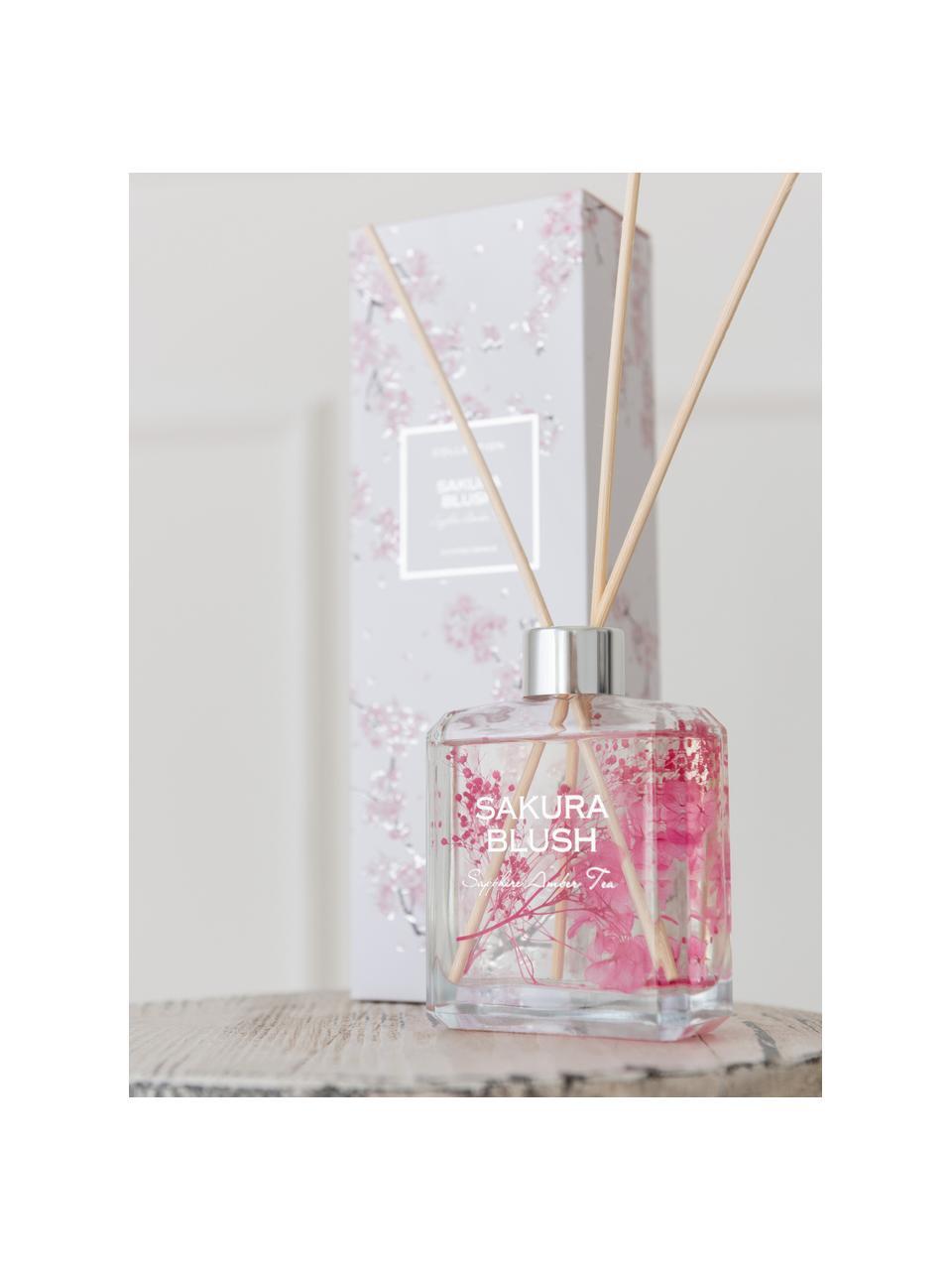 Diffusore Sakura Blush (ambra & tè), Contenitore: vetro, Ambra & tè, Larg. 9 x Alt. 27 cm