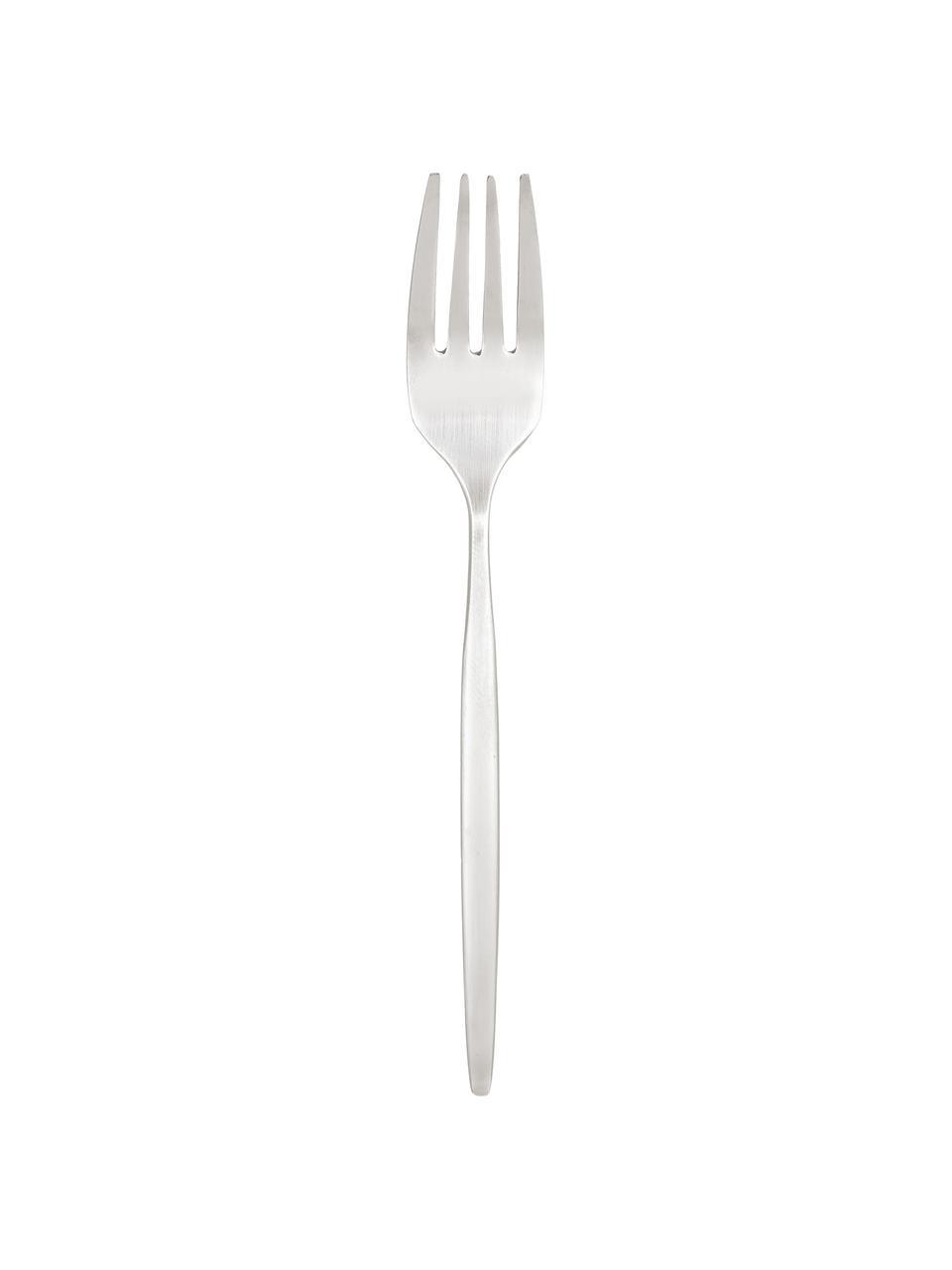 Zilverkleurige bestekset Shimmer van edelstaal, in verschillende setgroottes, Mes: Edelstaal 13/0, Zilverkleurig, 4 personen (20-delig)