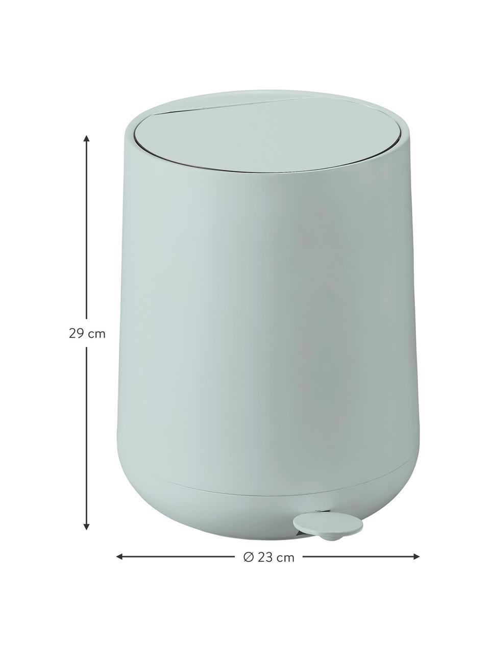 Kosz na śmieci Nova, Tworzywo sztuczne ABS, Jasny niebieski, Ø 23 x W 29 cm