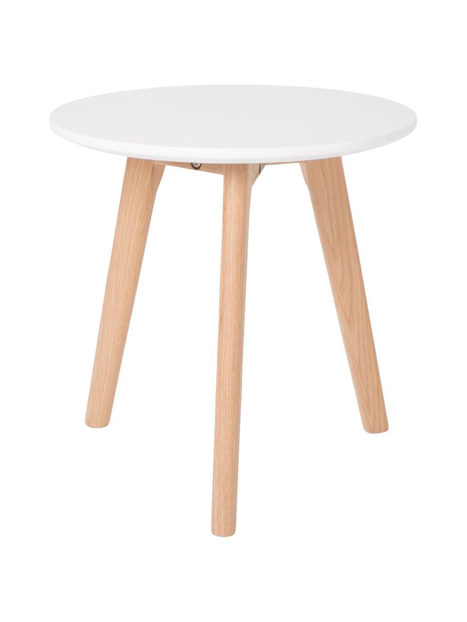 Beistelltisch-Set Bodine im Skandi Design, 2-tlg., Tischplatte: Mitteldichte Holzfaserpla, Weiß, Sondergrößen