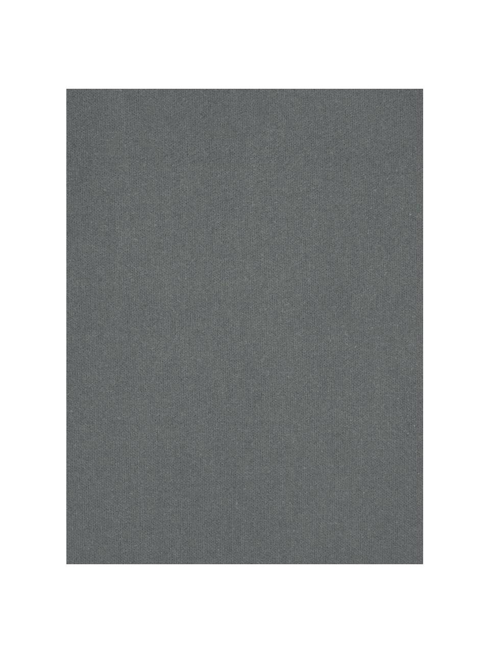 Flanell-Spannbettlaken Biba in Grau, Webart: Flanell Flanell ist ein k, Grau, 180 x 200 cm