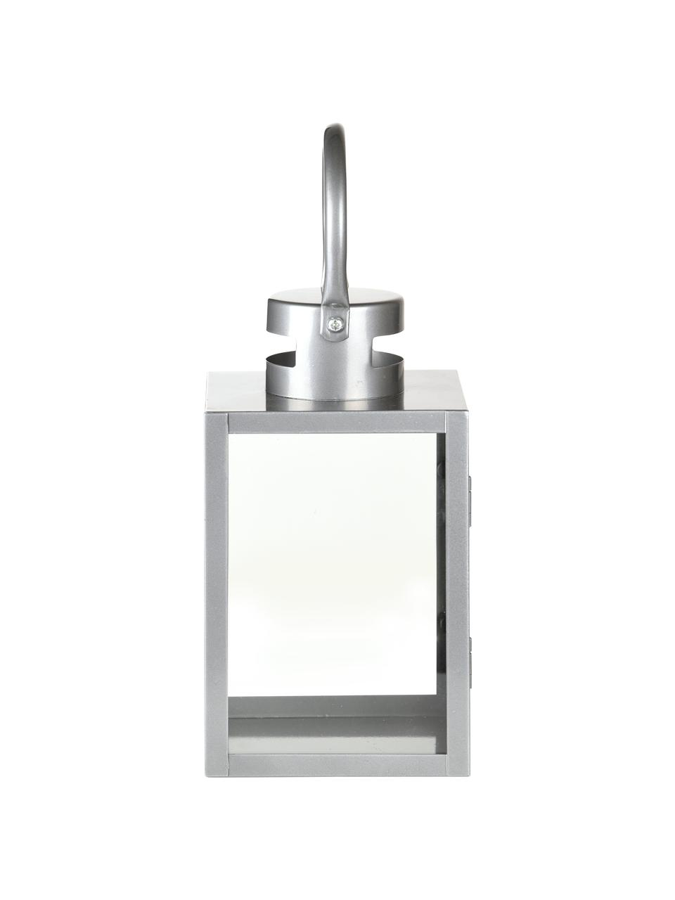 Lanterna da parete Shine, Argentato, Larg. 14 x Alt. 23 cm