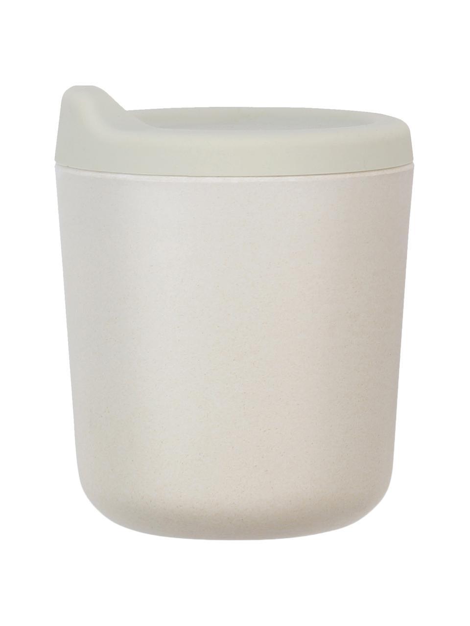 Tazza Bambino, Fibra di bambù, melamina, adatto per alimenti Senza BPA, PVC e ftalati, Grigio chiaro, Ø 7 x Alt. 9 cm
