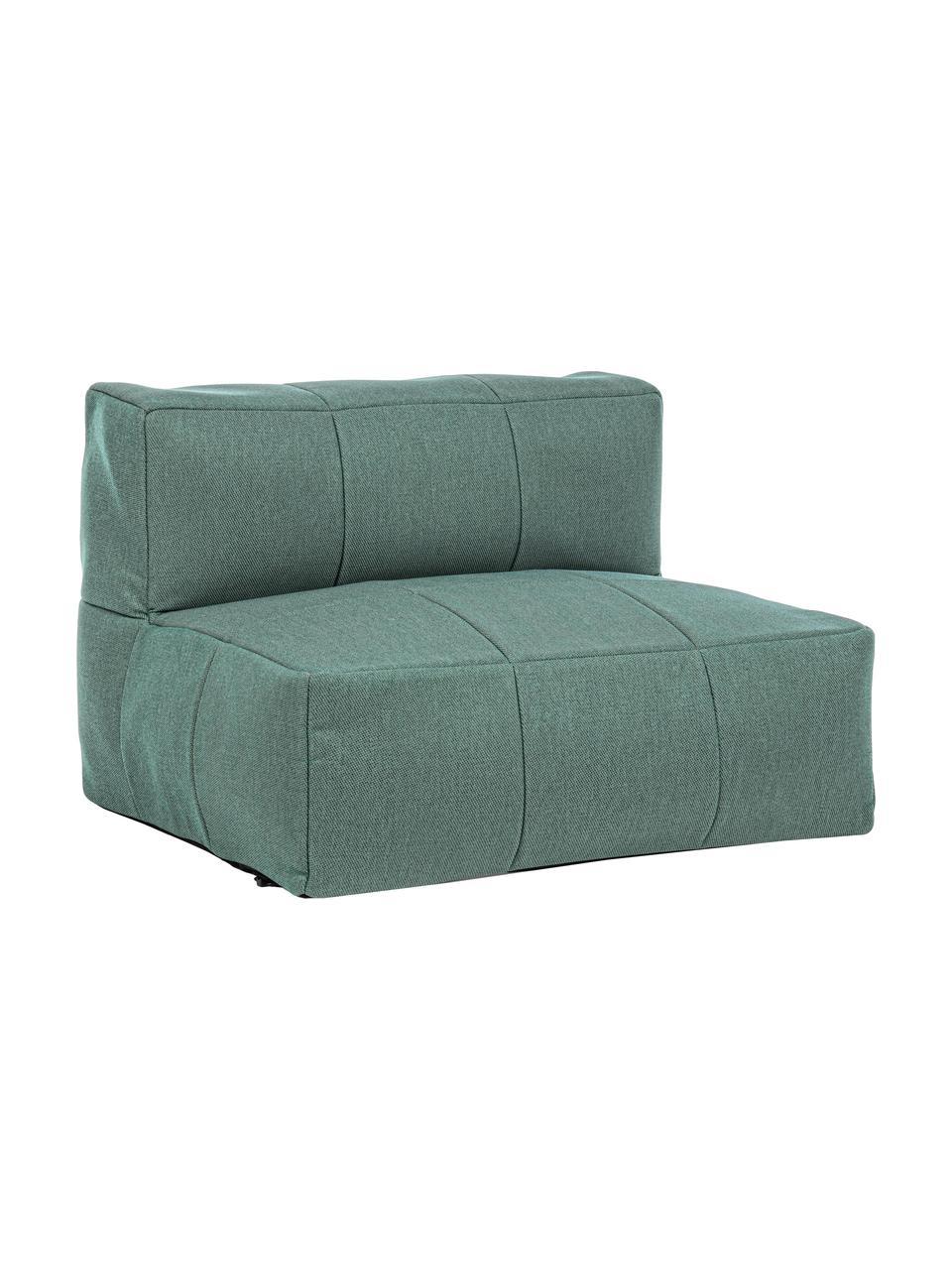 Fotel wypoczynkowy Sparrow, Tapicerka: 100% polipropylen, Stelaż: aluminium malowane proszk, Jadeitowy, S 87 x W 64 cm