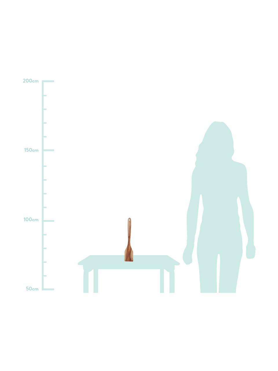 Pfannenwender Whis, Akazienholz, Akazienholz, 8 x 31 cm