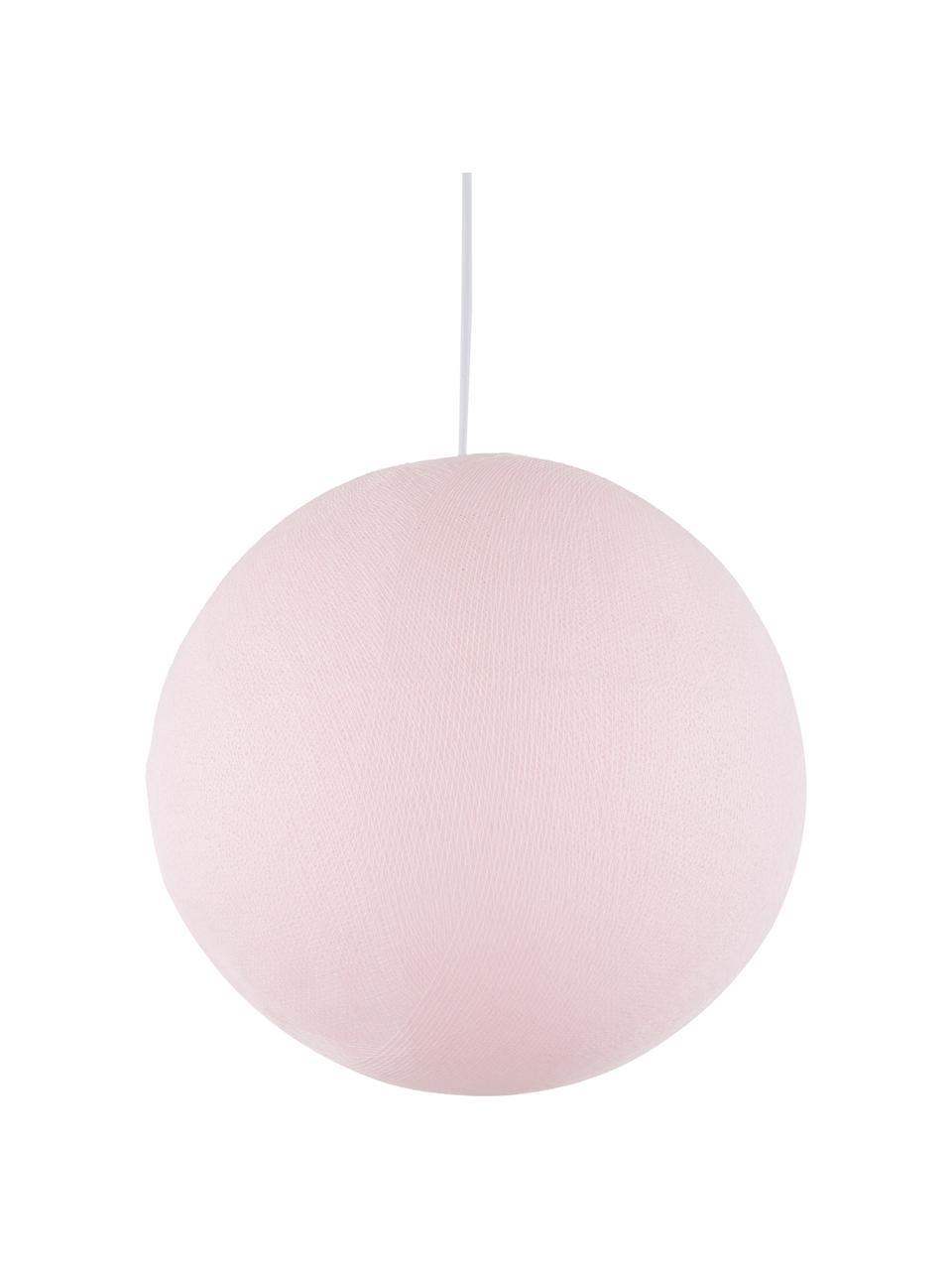 DIY Pendelleuchte Colorain, Lampenschirm: Polyester, Helles Pink, Ø 41 x H 135 cm