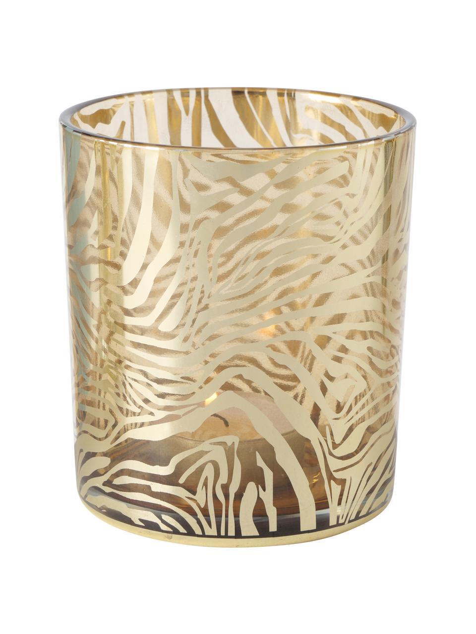 Bougeoir Tiger, 2élém., Couleur dorée