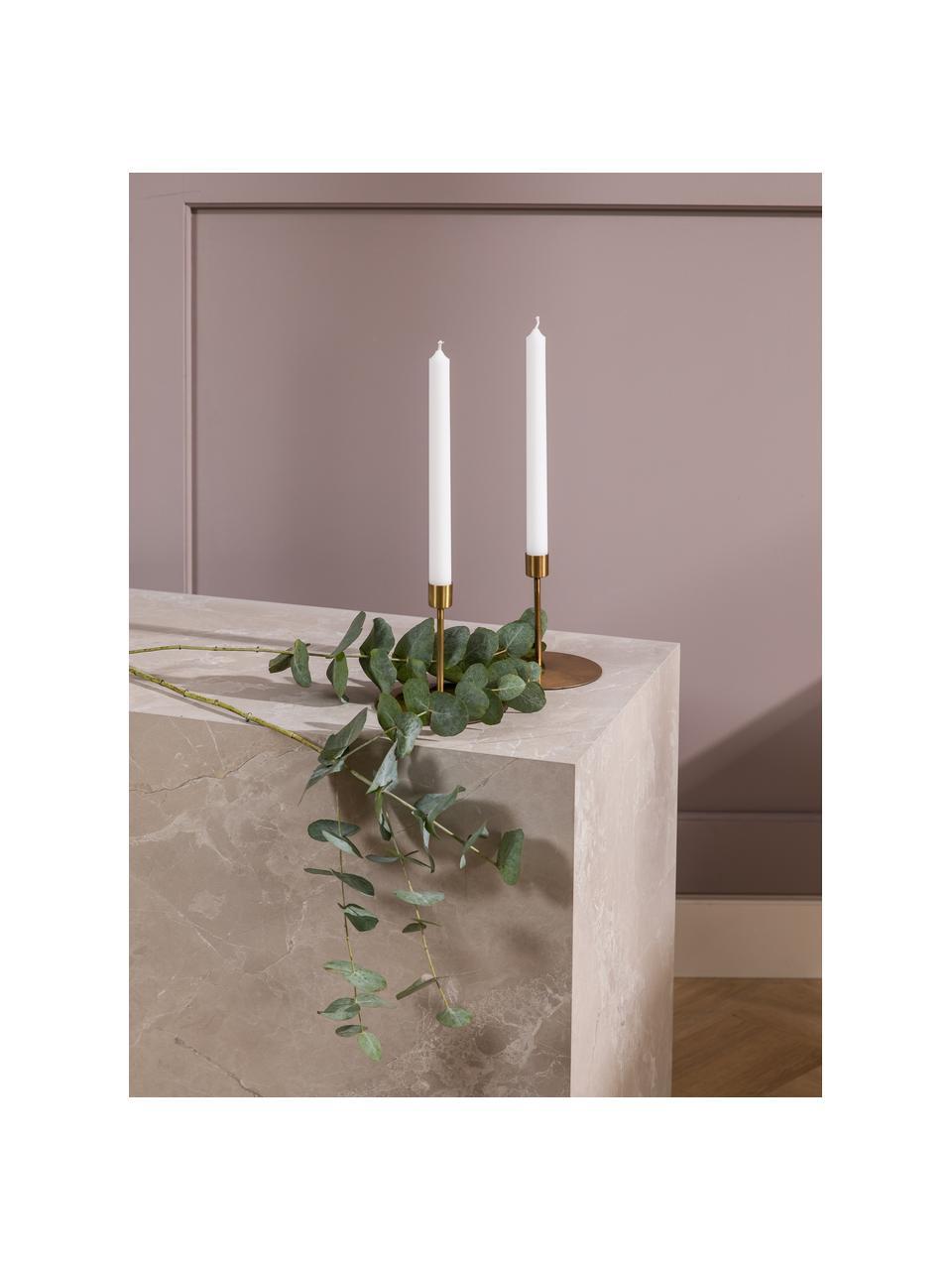 Świeca stołowa Stick, 4 szt., Parafina, Biały, Ø 2 x W 25 cm