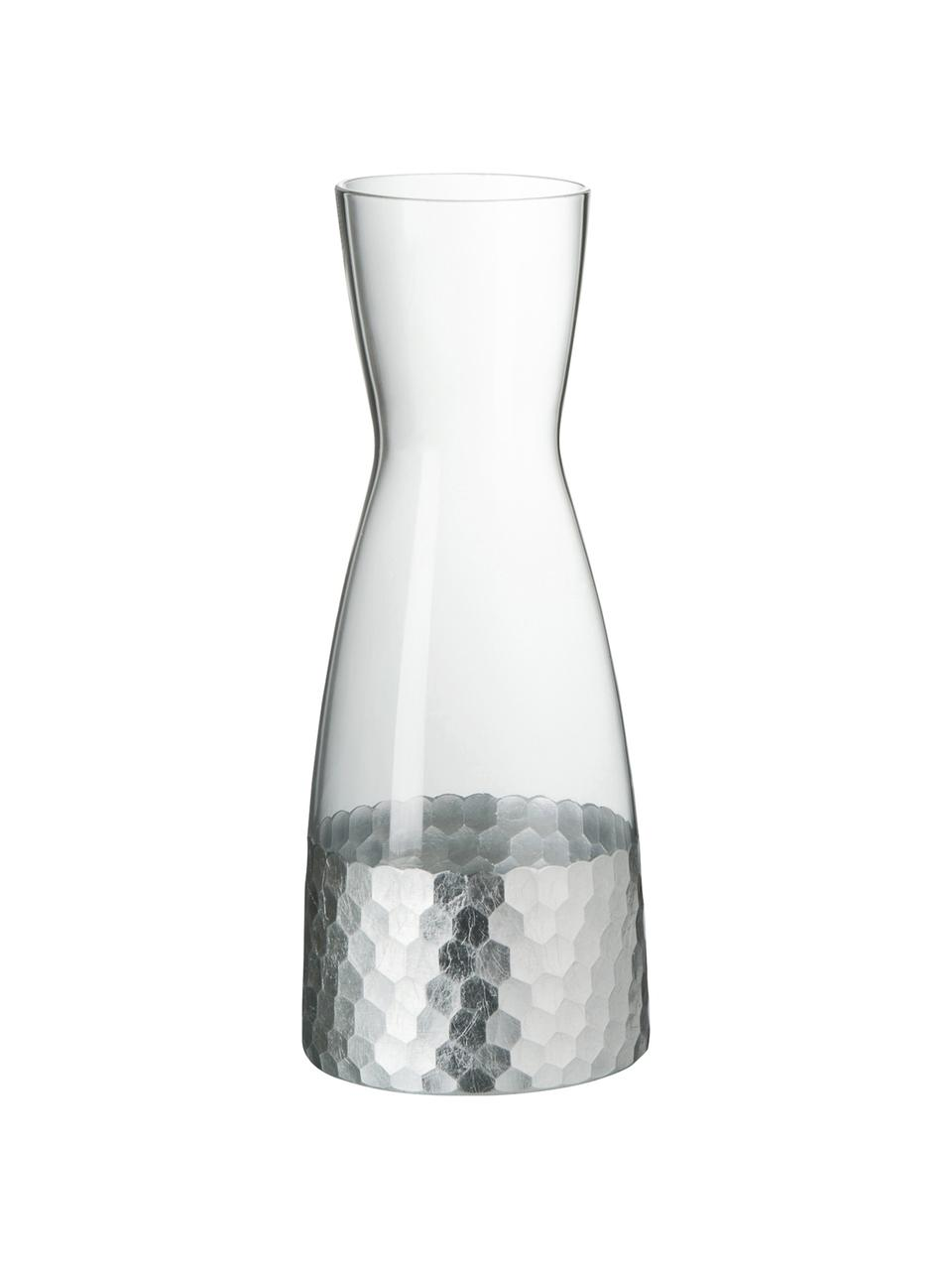 Carafe en verreWasp, 1,15l, Transparent, gris argent