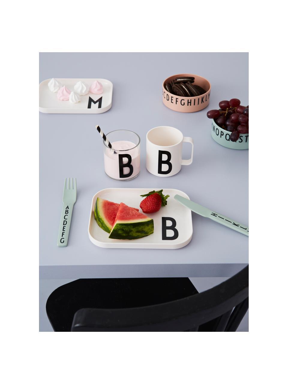Schälchen-Set Meal, 3-tlg, Tritan, Mint, Weiß, Grau, 11 x 4 cm