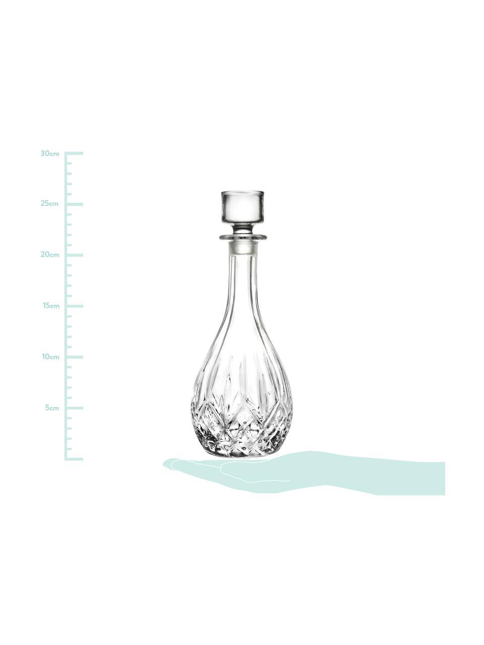 Carafe à décanter cristal avec bouchonRotonda, 900ml, Transparent