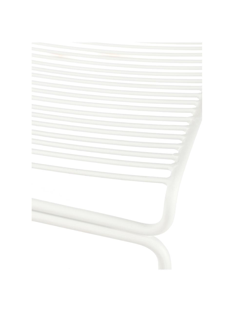 Balkónová židle Bueno, Bílá