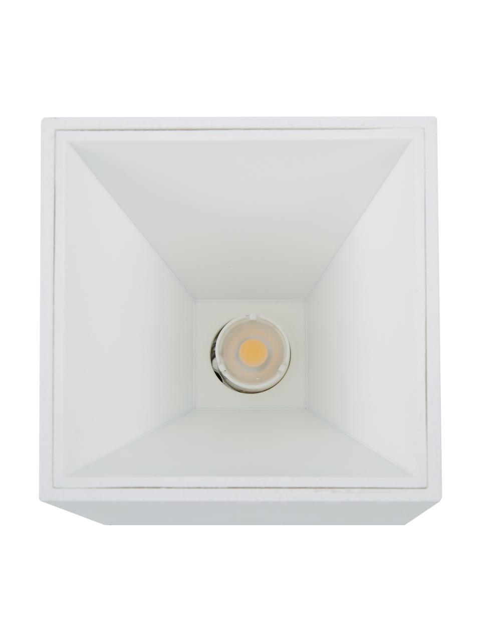LED-Deckenspot Marty, Lampenschirm: Metall, pulverbeschichtet, Weiß, matt, 10 x 12 cm