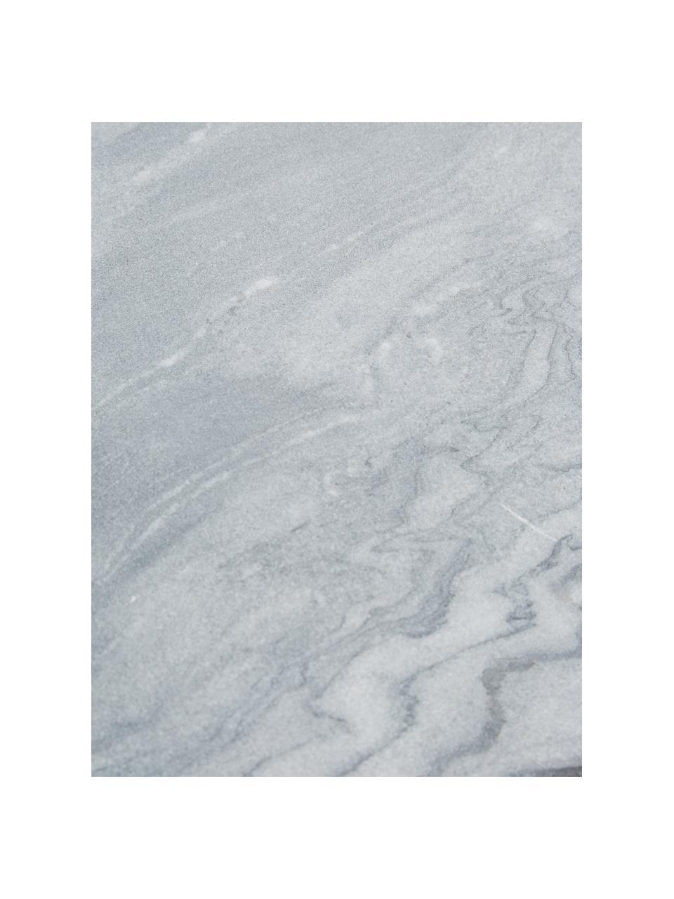 Marmor-Wandregal Porter, Regalboden: Marmor, Schwarzer Marmor, Schwarz, 60 x 24 cm