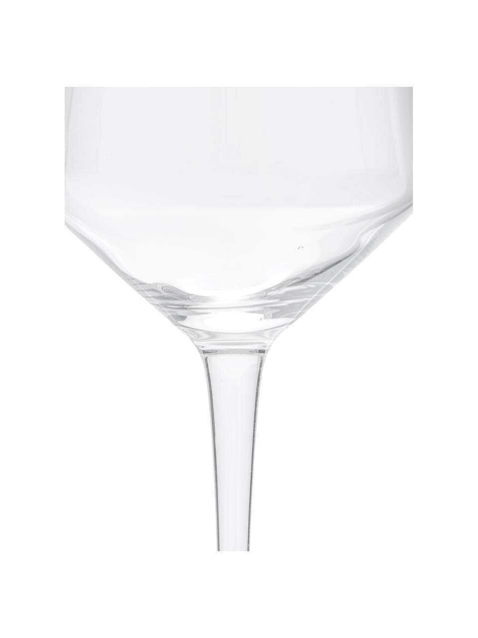 Verre à vin blanc soufflé bouche Ays, 4pièces, Transparent
