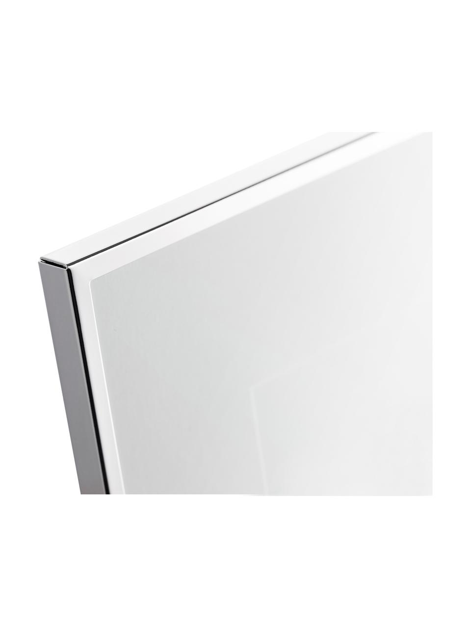 Cornice da tavolo dorata Memento, Cornice: metallo nichelato, Retro: legno, velluto, Argento, Larg. 21 x Alt. 26 cm