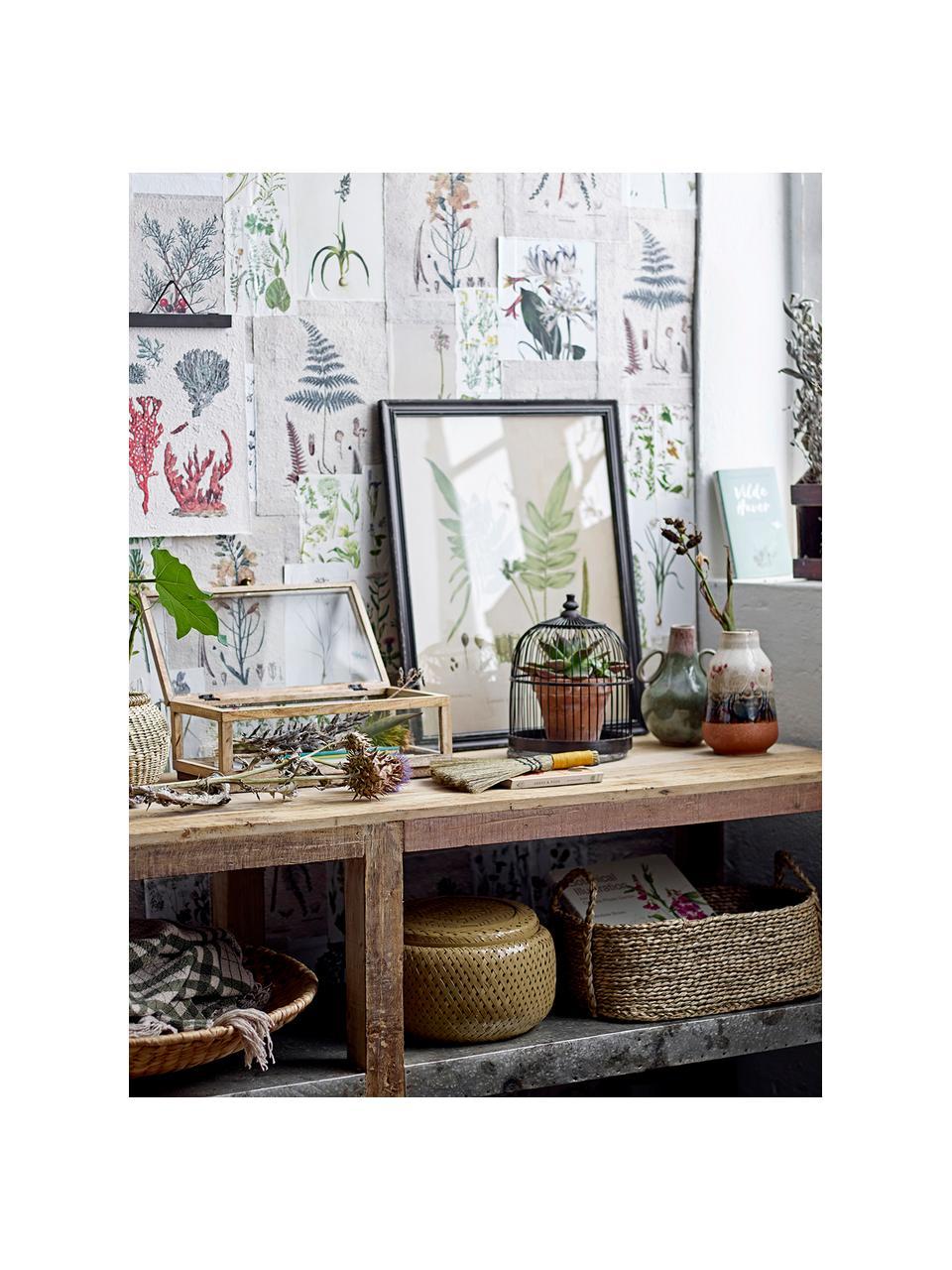 Oggetto decorativo Wed, Bambù, Nero, Ø 19 x Alt. 25 cm