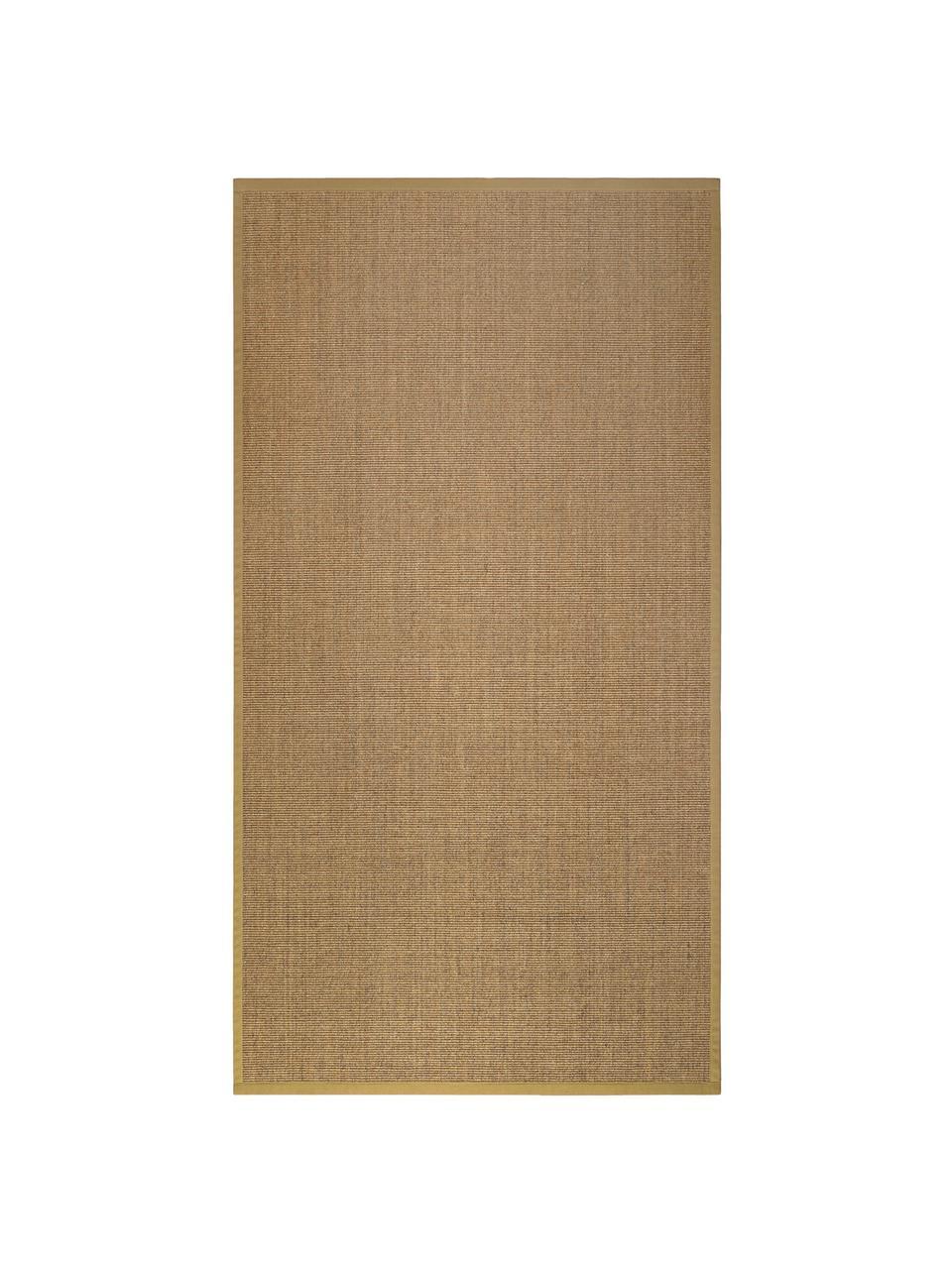 Sisal vloerkleed Leonie in beige, Bovenzijde: 100% sisal vezels, Onderzijde: latex, Beige, B 300 x L 400 cm (Maat XL)