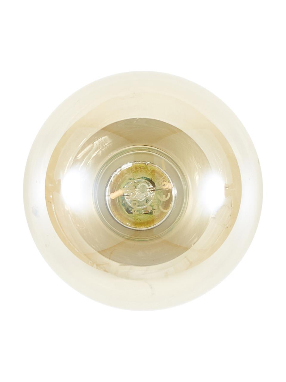 Kinkiet/lampa sufitowa Chanty, Mosiądz szczotkowany, Ø 6 cm