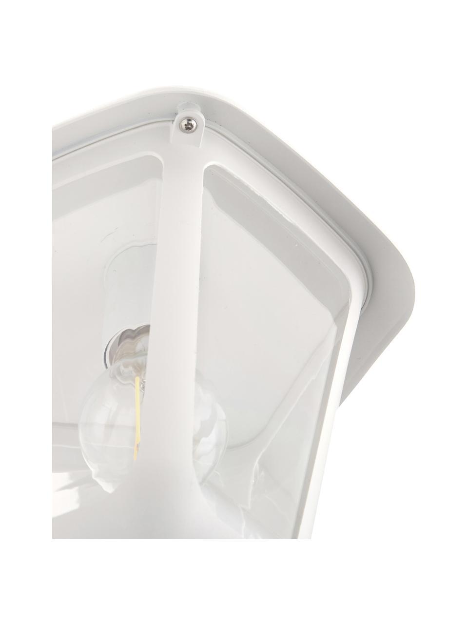 Zewnętrzny kinkiet biały Monreale, Biały, S 23 x W 28 cm