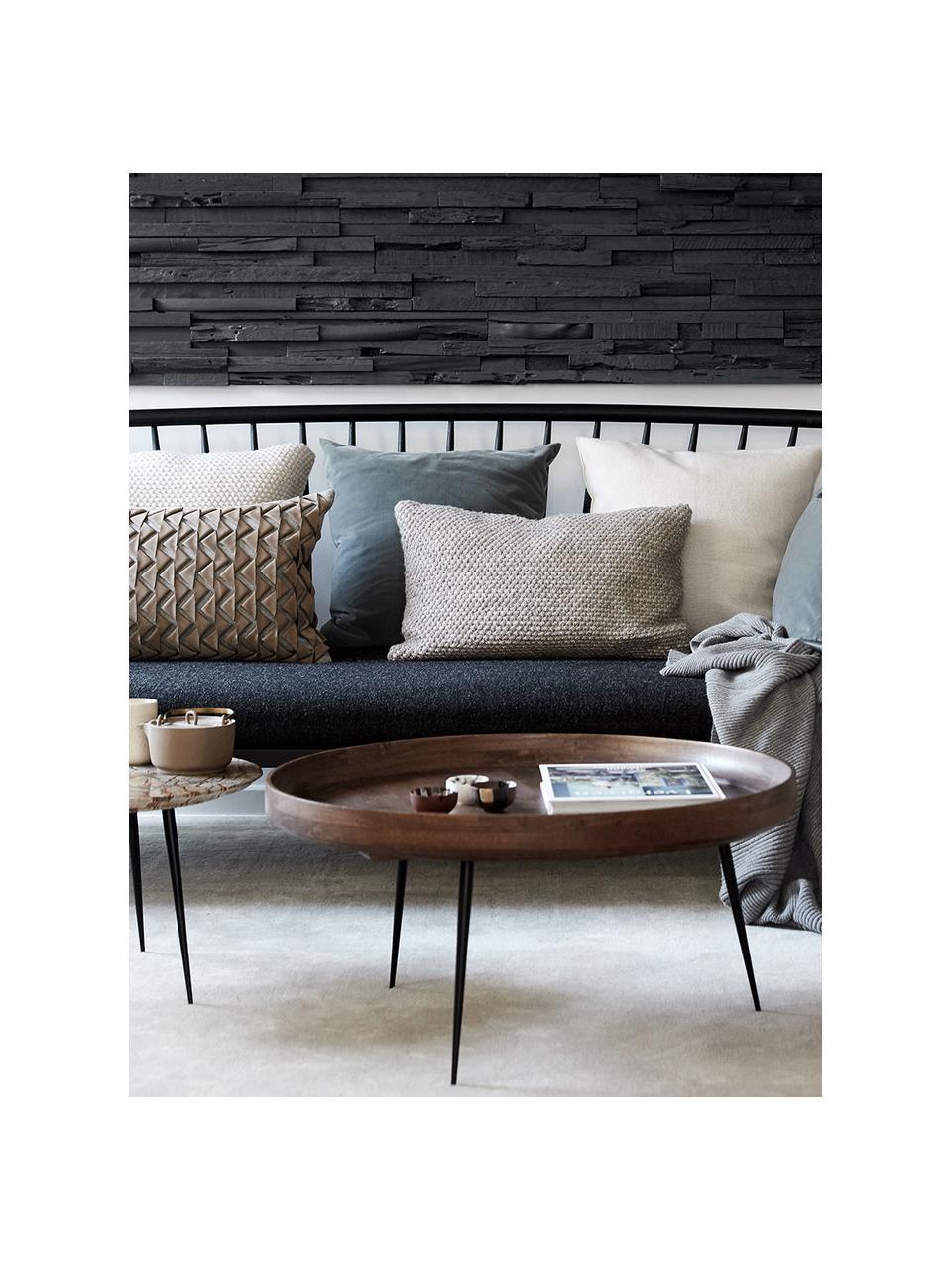 Table basse design en manguier Bowl Table, Gris-brun