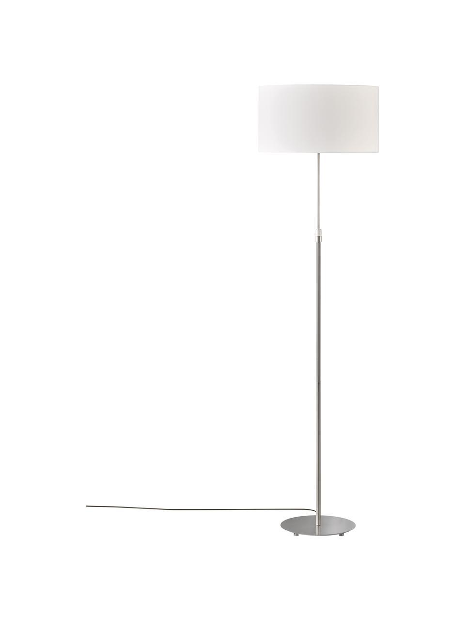 Lampa do czytania Pina, Biały, odcienie srebrnego, Ø 40 x W 150 cm