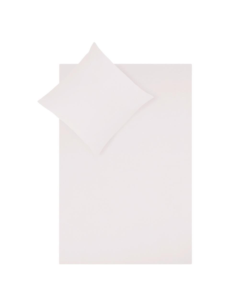 Pościel z satyny bawełnianej Comfort, Blady różowy, 240 x 220 cm + 2 poduszki 80 x 80 cm
