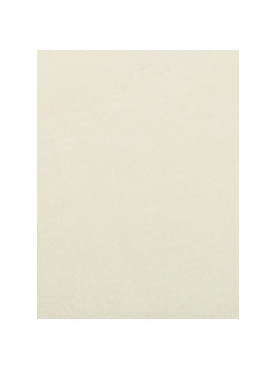 Kuscheldecke Doudou in Offwhite, 100% Polyester, Gebrochenes Weiß, 130 x 160 cm