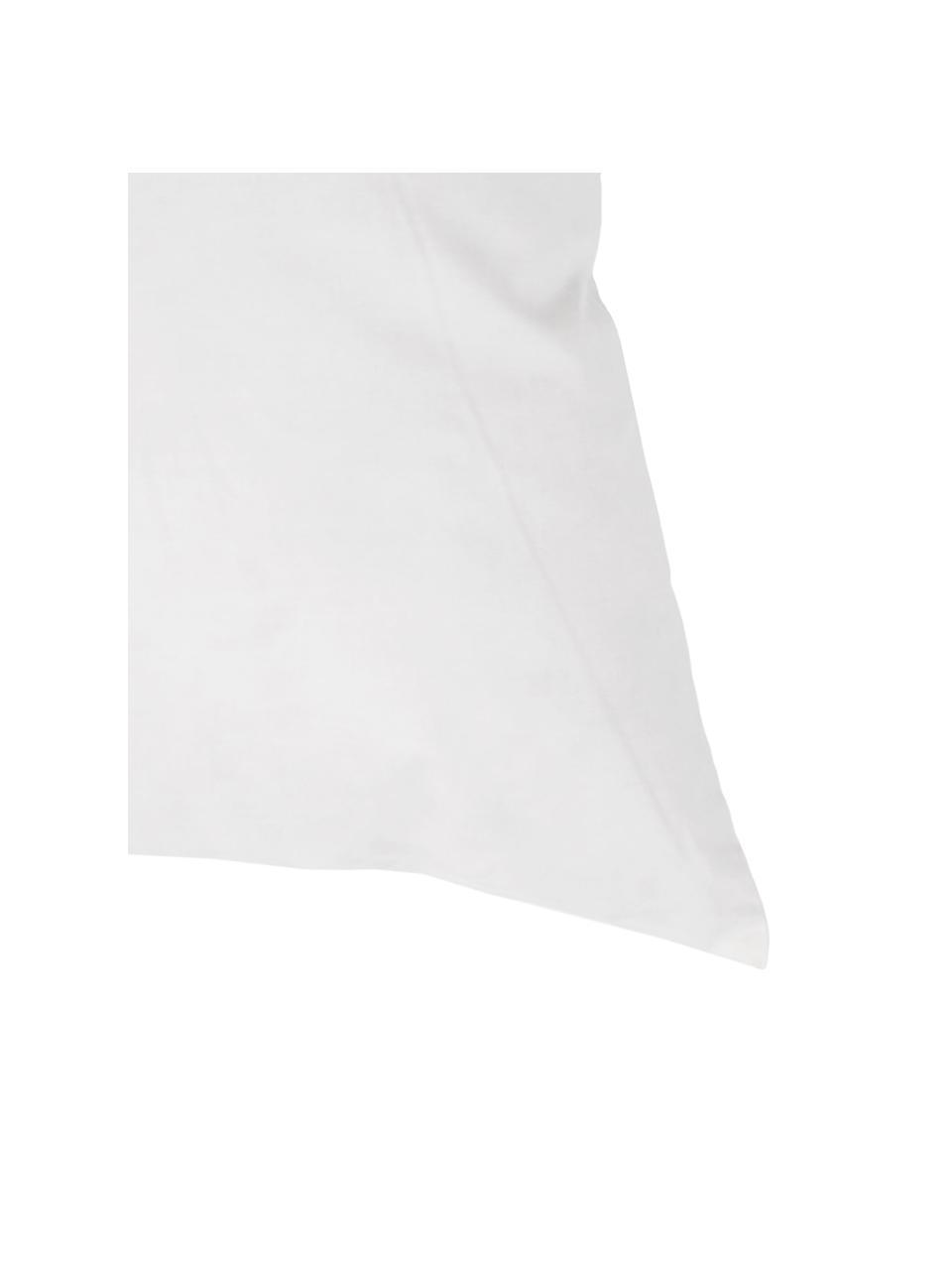 Kissen-Inlett Comfort, 45x45, Feder-Füllung, Bezug: Feinköper, 100% Baumwolle, Weiß, 45 x 45 cm