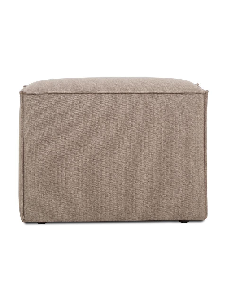Middelste module Lennon in bruin, Bekleding: 100% polyester De slijtva, Frame: massief grenenhout, multi, Poten: kunststof De poten bevind, Geweven stof bruin, 89 x 119 cm