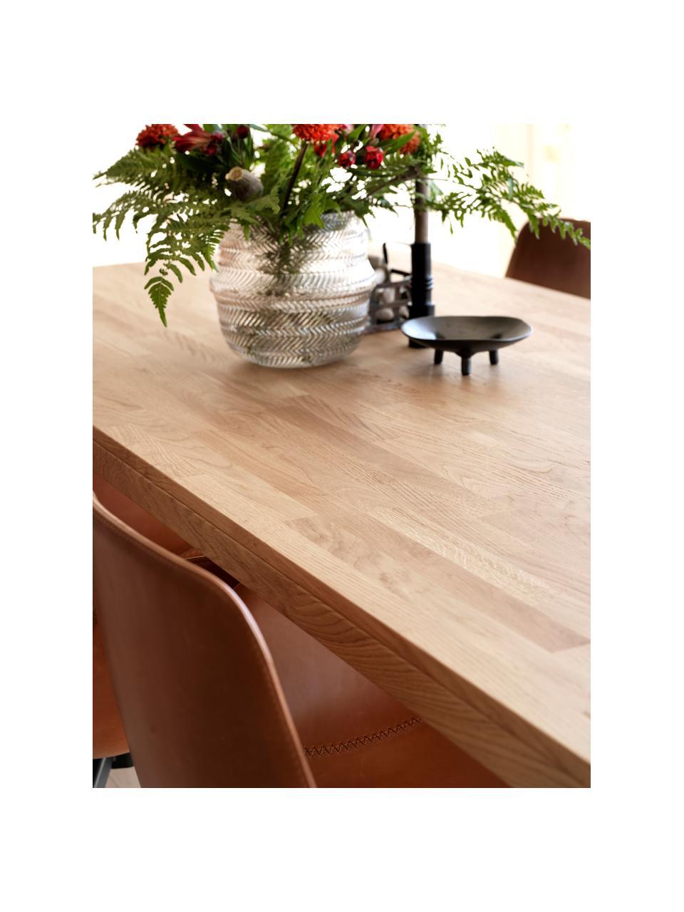 Table extensible en chêne massifBrooklyn, 170 - 220 x 95 cm, Bois de chêne