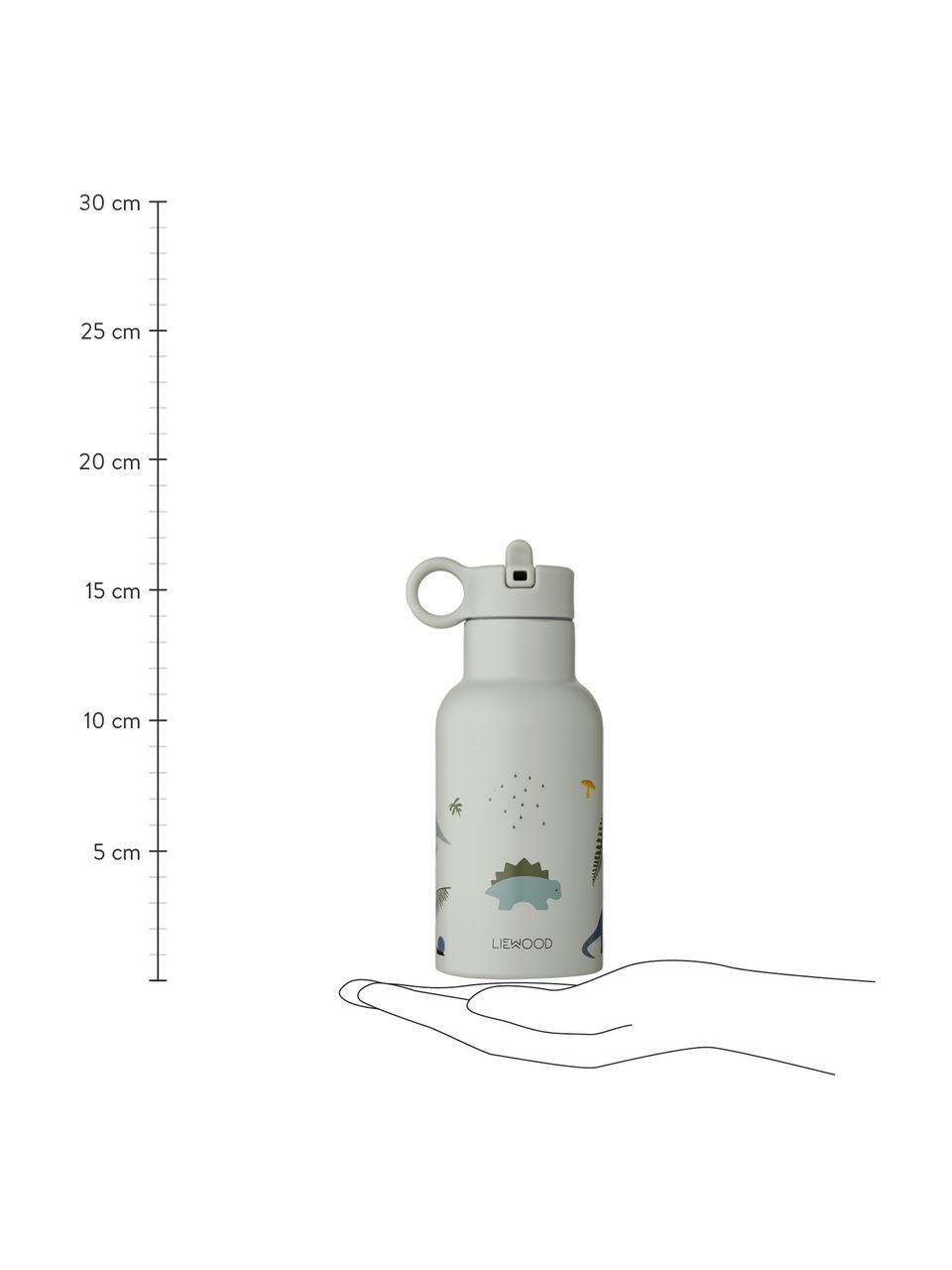 Bidon termiczny Anker, Stal szlachetna, Niebieski, wielobarwny, 350 ml