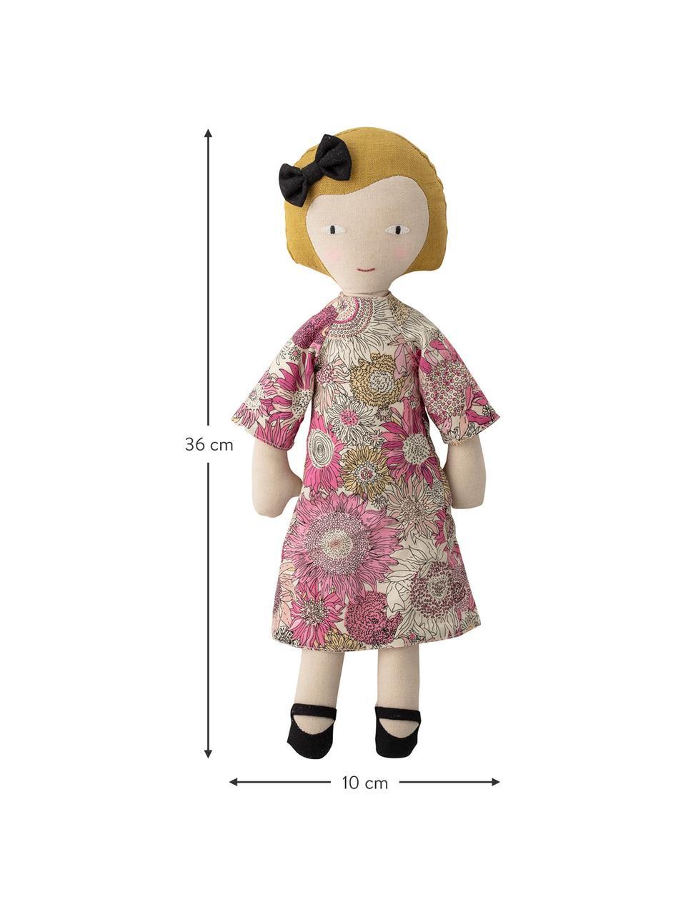 Set 2 bambole di pezza Girls, Rivestimento: 65 % poliestere, 35 % cot, Multicolore, Larg. 10 x Alt. 36 cm