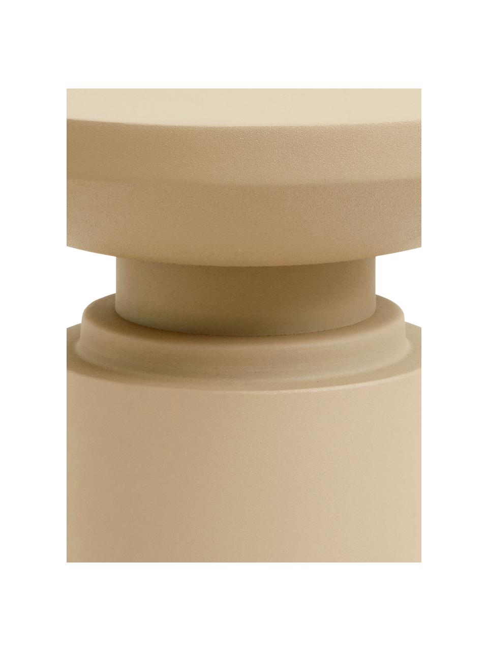 Table d'appoint Victoria, Beige