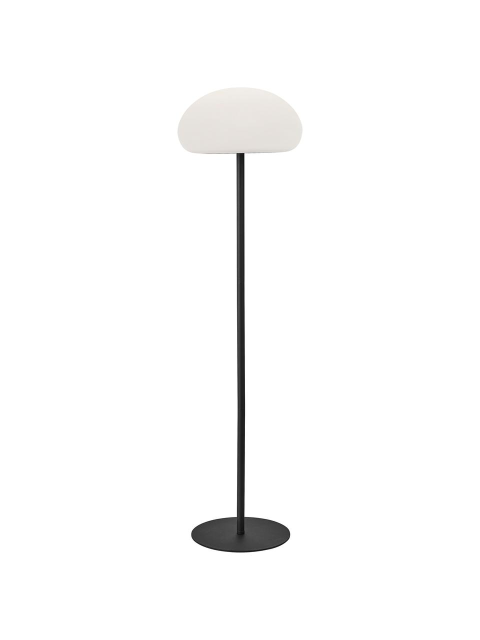 Lampada da terra dimmerabile da esterno Sponge, Paralume: materiale sintetico, Bianco, nero, Ø 34 x Alt. 126 cm