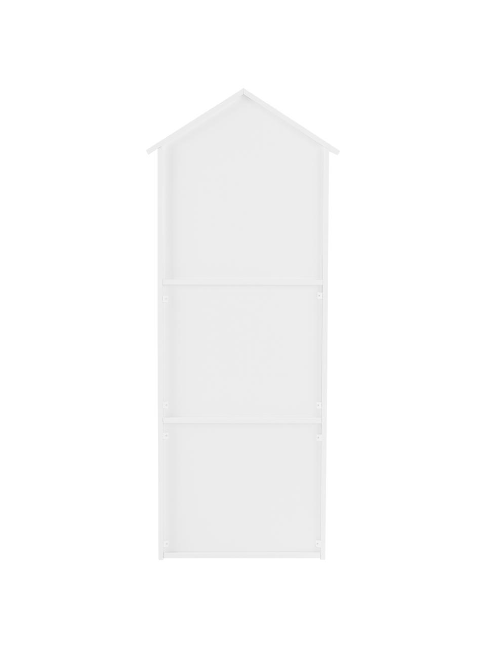 Kinder-Regal Sevilla, Mitteldichte Holzfaserplatte (MDF), beschichtet, Weiß, 40 x 117 cm